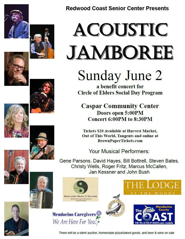 Acoustic Jamboree Poster