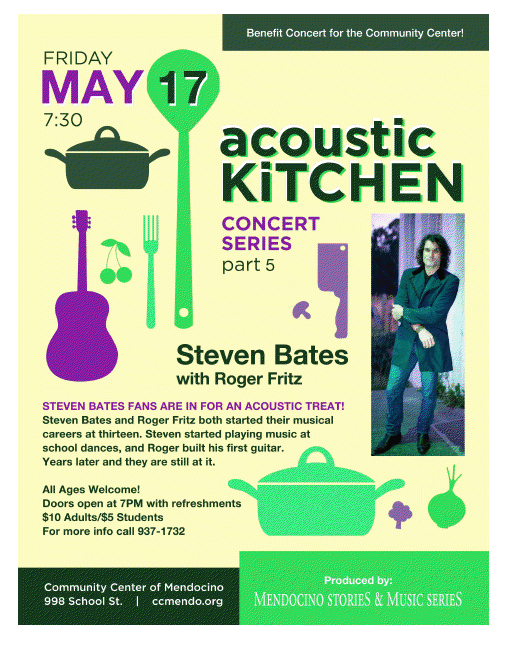 Acoustic Kitchen Poster