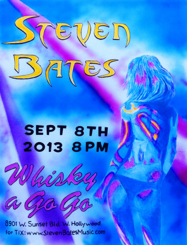 Whisky A Go Go 9-8-13 poster2