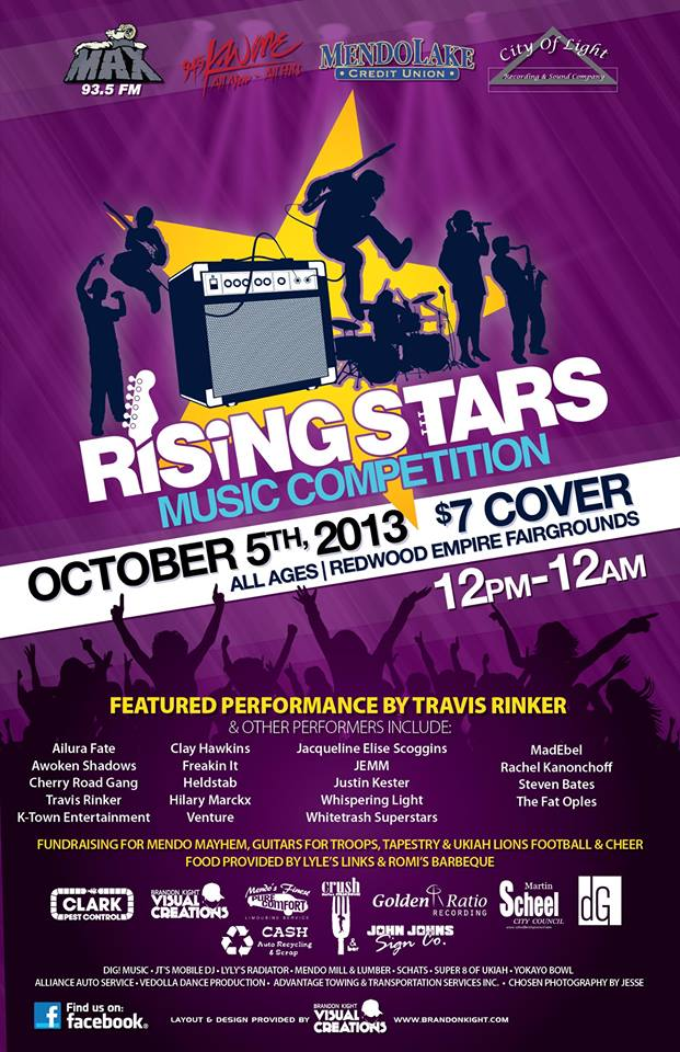 Rising Stars Event Poster 2013