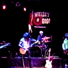 Steven Bates band playing Whisky A Go Go