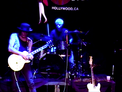 Steven Bates and Ralph Humphrey playing live at The Whisky 11-12-13