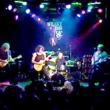 Playing live at The Whisky's 50th Anniversary