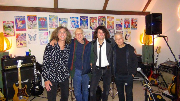 Rock The Ground Dance Party - (from left) Jeffrey Walsh, Jon Faurot, Steven Bates and Ralph Humphrey