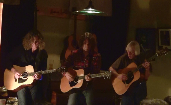 V'Canto acoustic show with Jeffrey Walsh, Steven Bates and Jon Faurot.