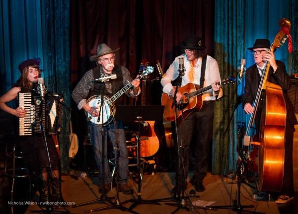 Quartet - Gwyneth Moreland, Gene Parsons, Steven Bates and David Hayes. Photo courtesy of Nicholas Wilson.